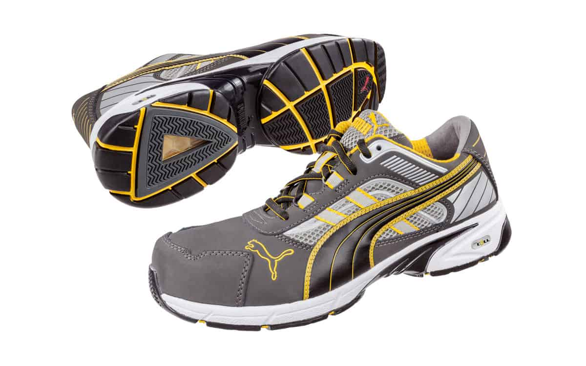 Puma Pace - Grey Yellow - Top Quality Work Wear 22943c40e51